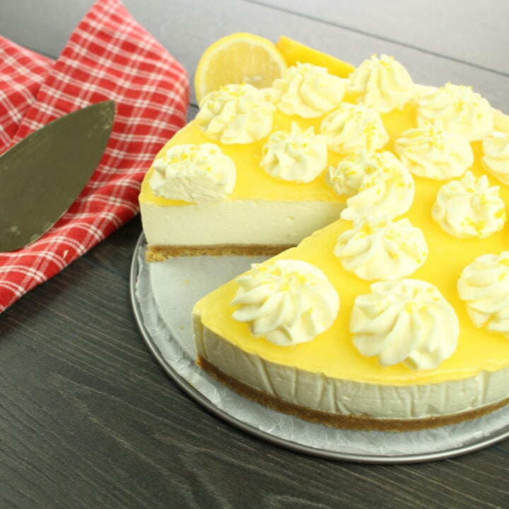 Lemon Cheesecake No-Bake