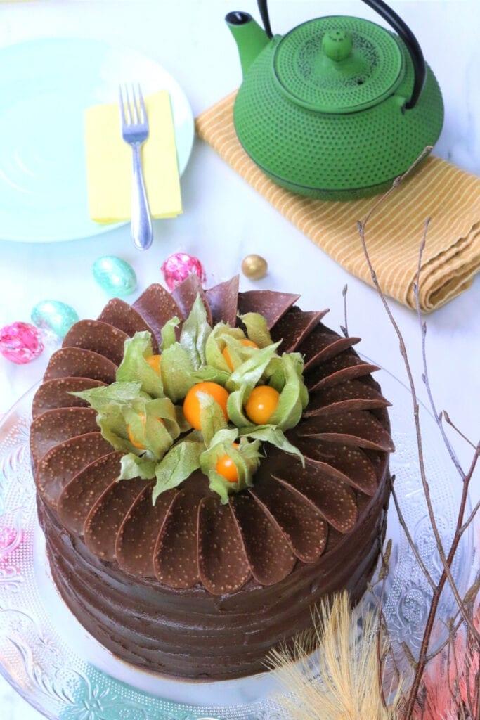 moist chocolate cake 5
