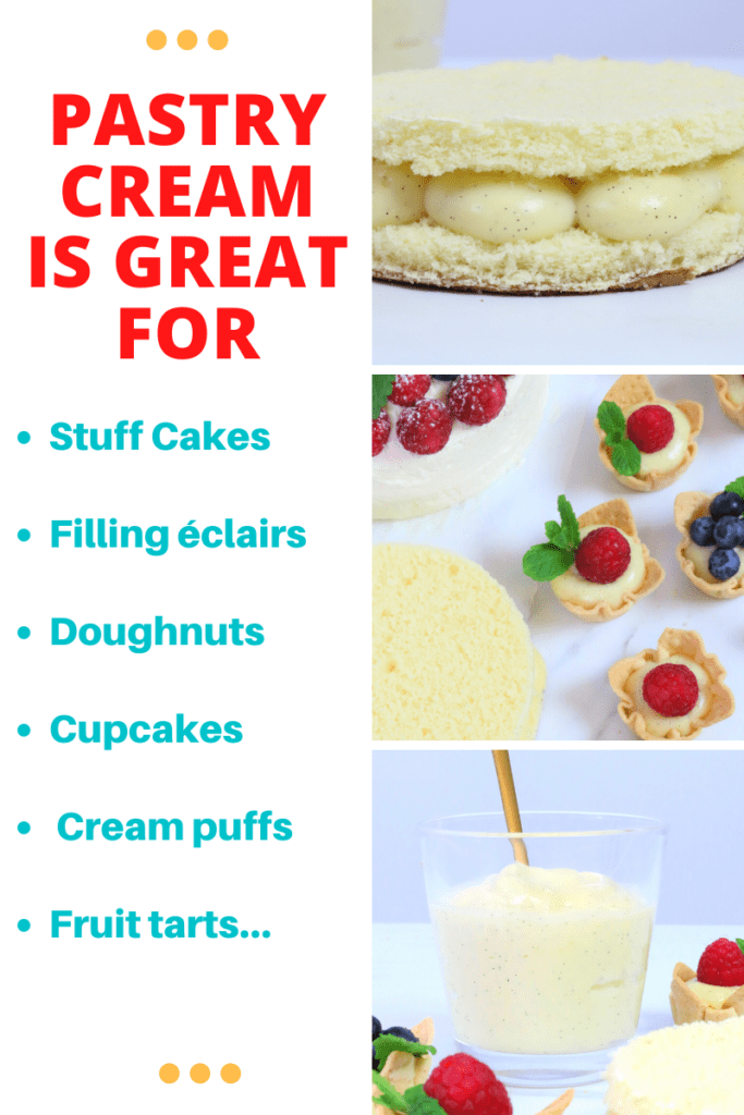 perfect filling for éclairs doughnuts and cupcakes cream puffs fruit tarts… 2