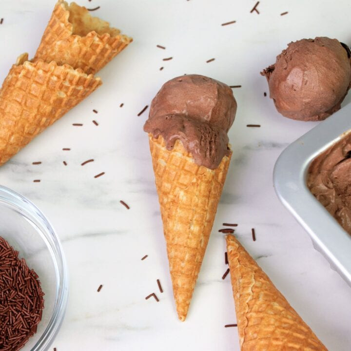 Chocolate Ice Cream Cocoa Powder