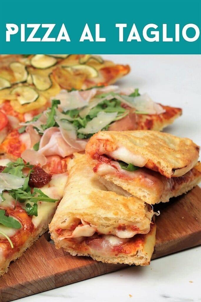 Pizza al taglio folded